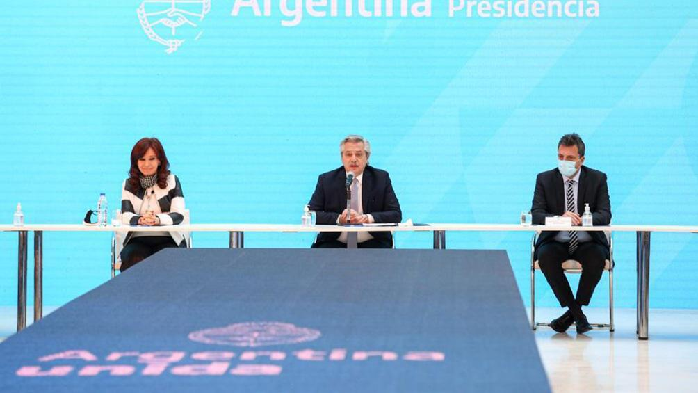 """Alberto Fernández: """"Pudimos hacer la restructuración de la deuda en medio de esta pandemia"""""""